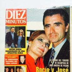 Coleccionismo de Revista Diez Minutos: ROCÍO JURADO, PALOMA SAN BASILIO, ANTONIO BANDERAS, ROSARIO FLORES, MARÍA JIMENEZ, BARBARA REY. Lote 51103120