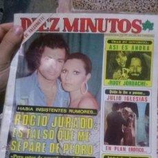 Coleccionismo de Revista Diez Minutos: REVISTA DIEZ MINUTOS 9/2/1980. Lote 51368759
