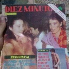 Coleccionismo de Revista Diez Minutos: REVISTA DIEZ MINUTOS AÑO XXX 16/2/1980. Lote 51368893