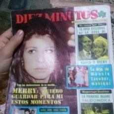 Coleccionismo de Revista Diez Minutos: REVISTA DIEZ MINUTOS AÑO XXLX 8/12/1979. Lote 51368928