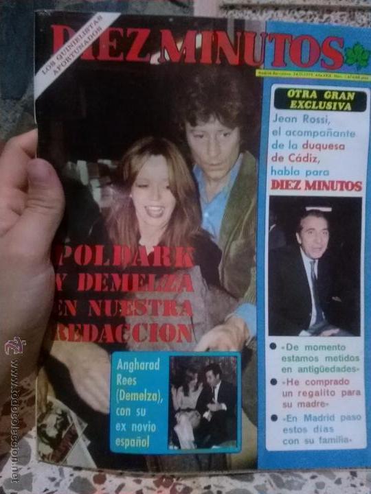 REVISTA DIEZ MINUTOS AÑO 24/11/1979 (Coleccionismo - Revistas y Periódicos Modernos (a partir de 1.940) - Revista Diez Minutos)