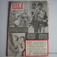 Coleccionismo de Revista Diez Minutos: REVISTA DIEZ MINUTOS Nº - 106 -. Lote 51547068