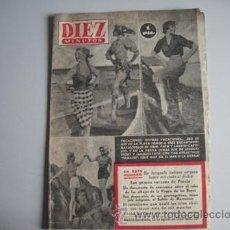 Coleccionismo de Revista Diez Minutos: REVISTA DIEZ MINUTOS Nº - 104 -. Lote 51547101