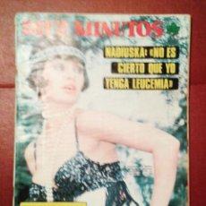 Coleccionismo de Revista Diez Minutos: DIEZ MINUTOS Nº 1244 - 28-6-75 NADIUSKA LOLITA Y PALOMO LINARES POSTER DE MIGUEL GALLARDO Y NADIUSKA. Lote 52694108