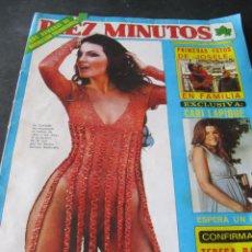 Coleccionismo de Revista Diez Minutos: REVISTA DIEZ MINUTOS 1338. 1977. SARA MONTIEL. M J CANTUDO. CELA. M. BOSE. CONCHA VELASCO MARCO TV. Lote 144947326