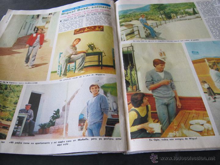 Coleccionismo de Revista Diez Minutos: REVISTA DIEZ MINUTOS 1338. 1977. SARA MONTIEL. M J CANTUDO. CELA. M. BOSE. CONCHA VELASCO MARCO TV - Foto 3 - 144947326