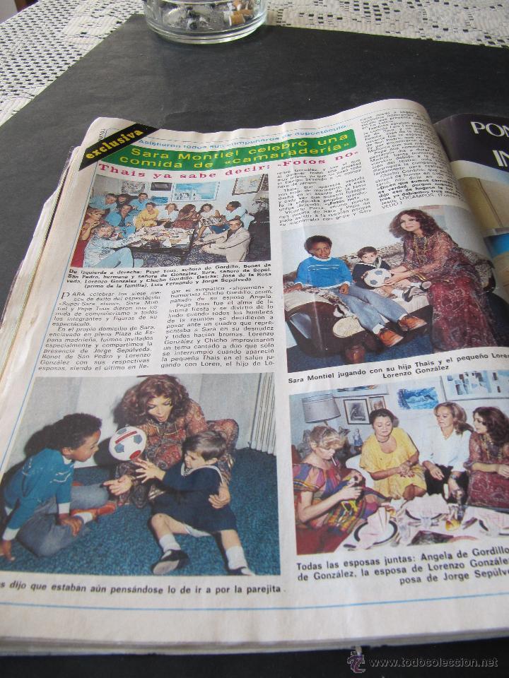 Coleccionismo de Revista Diez Minutos: REVISTA DIEZ MINUTOS 1338. 1977. SARA MONTIEL. M J CANTUDO. CELA. M. BOSE. CONCHA VELASCO MARCO TV - Foto 6 - 144947326