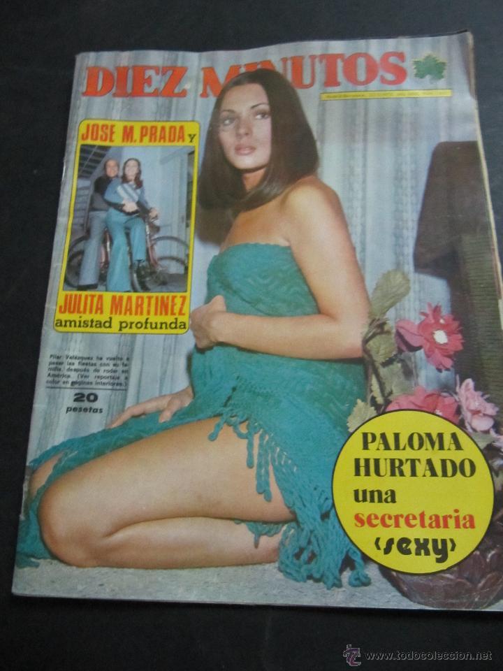 Revista Diez Minutos Nº 1165 Año 1973 Sara Montiel Al Desnudo