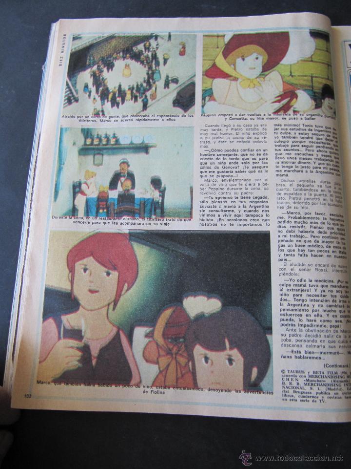 Coleccionismo de Revista Diez Minutos: REVISTA DIEZ MINUTOS. Nº 1334. AÑO 1977. PALOMO LINARES. NADIUSKA. COMIC: MARCO, SERIE DE TVE - Foto 3 - 53097253