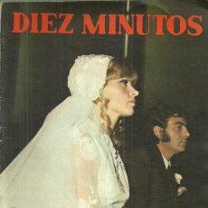 Coleccionismo de Revista Diez Minutos: SALOME REPORTAJE SOBRE SU BODA DE 4 PAGINAS, REVISTA DIEZ MINUTOS Nº 949, 1/11/1969. Lote 53247811