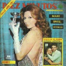 Coleccionismo de Revista Diez Minutos: ROCIO JURADO REPORTAJE DE 2 PAGINAS REVISTA DIEZ MINUTOS Nº1271 3/01/1976 MIGUEL BOSE 2 PAGINAS.... Lote 53290483