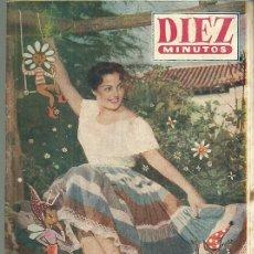 Coleccionismo de Revista Diez Minutos: CARMEN SEVILLA REVISTA DIEZ MINUTOS Nº EXTRAORDINARIO PRIMAVERA 1956. Lote 53290520
