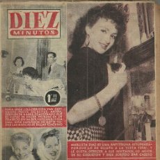 Coleccionismo de Revista Diez Minutos: MARUJITA DIAZ REVISTA DIEZ MINUTOS Nº 232 5 DE FEBRERO 1956. Lote 53290551