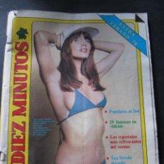 Coleccionismo de Revista Diez Minutos: DIEZ MINUTOS 76 ELVIS PRESLEY RAPHAEL BEATLES MARIA JOSE CANTUDO MONICA RANDALL DEMIS ROUSSOS. Lote 144947441