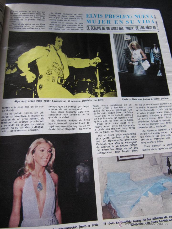 Coleccionismo de Revista Diez Minutos: DIEZ MINUTOS 76 ELVIS PRESLEY RAPHAEL BEATLES MARIA JOSE CANTUDO MONICA RANDALL DEMIS ROUSSOS - Foto 3 - 144947441