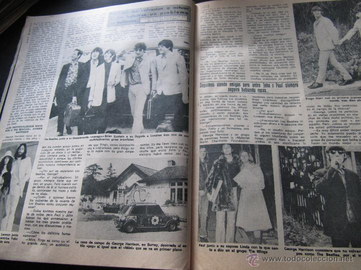 Coleccionismo de Revista Diez Minutos: DIEZ MINUTOS 76 ELVIS PRESLEY RAPHAEL BEATLES MARIA JOSE CANTUDO MONICA RANDALL DEMIS ROUSSOS - Foto 6 - 144947441