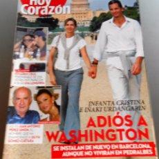 Coleccionismo de Revista Diez Minutos: HOY CORAZON 2012. Lote 56944754