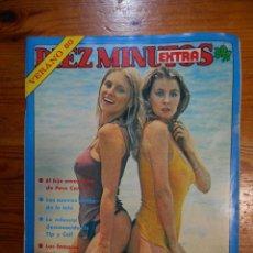 Coleccionismo de Revista Diez Minutos: DIEZ MINUTOS EXTRA VERANO 80. I. PANTOJA, C. SESTO, POSTERS ANA TURKER Y ANDY GIBB. Lote 54832640