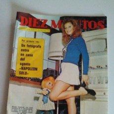 Coleccionismo de Revista Diez Minutos: DIEZ MINUTOS AÑO 1972 ,POSTER D JAMES FARENTINO , VÍCTOR MANUEL JULIO IGLESIAS NINO BRAVO Y +. Lote 54928188