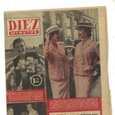 Coleccionismo de Revista Diez Minutos: DIEZ MINUTOS. AÑO 1956. Lote 54992263