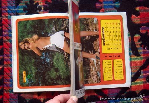 Calendario De 1976 Completo.Diez Minutos Extra 1976 Calendario Completo Desplegable Con Famosas Sophia Loren Jeanette