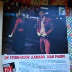 Coleccionismo de Revista Diez Minutos: RECORTE JUAN PARDO. Lote 56615867
