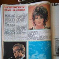 Coleccionismo de Revista Diez Minutos: RECORTE ELIZABETH TAYLOR LYZ LYZZ LIZ RICHARD BURTON. Lote 56616717