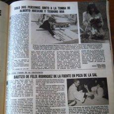 Coleccionismo de Revista Diez Minutos: RECORTE FELIX RODRIGUEZ DE LA FUENTE 3 PAGINAS. Lote 109233719
