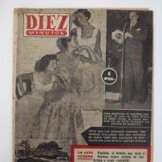 Coleccionismo de Revista Diez Minutos: DIEZ MINUTOS. NÚMERO 131. AÑO 1954.. Lote 57433873