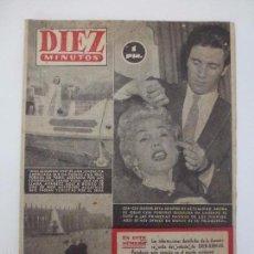 Coleccionismo de Revista Diez Minutos: DIEZ MINUTOS. NÚMERO 142. AÑO 1954.. Lote 57433958