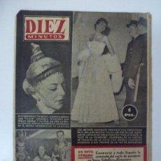 Coleccionismo de Revista Diez Minutos: DIEZ MINUTOS. NÚMERO 120. AÑO 1953.. Lote 57454746