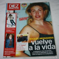 Coleccionismo de Revista Diez Minutos: REVISTA DIEZ MINUTOS Nº 2842 2006 RAQUEL MOSQUERA VUELVE A LA VIDA, OPERACION TRIUNFO, PENELOPE CRUZ. Lote 57474197