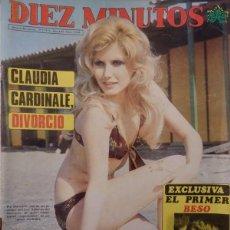 Coleccionismo de Revista Diez Minutos: REVISTA DIEZ MINUTOS N Nº 1240 AÑO 75 POSTER PIA GIANCARLO, TELLY SAVALAS. Lote 206528963
