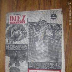 Coleccionismo de Revista Diez Minutos: REVISTA DIEZ MINUTOS Nº 99 AÑO 1953. Lote 57912074