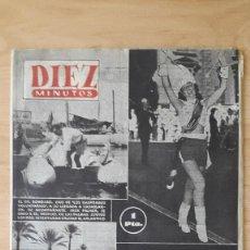 Coleccionismo de Revista Diez Minutos: REVISTA DIEZ MINUTOS. SEP 1952 - Nº 54 - NUEVA VERSION MUERTE MUSSOLINI - VER FOTOS ADICIONALES. Lote 57989924