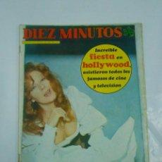 Coleccionismo de Revista Diez Minutos: REVISTA DIEZ MINUTOS - AÑO XXIV - Nº 1179. -30 MARZO 1974 - LUCIANA WOLF. TDKR21. Lote 58135344