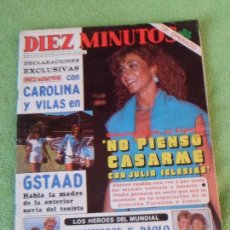 Coleccionismo de Revista Diez Minutos: RUMMENIGGE - PAOLO ROSSI - ROLLING STONES - HIJA DE MARISOL - MARIA CASAL - AGATA LYS ... 1982. Lote 58603745