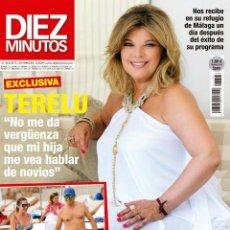 Coleccionismo de Revista Diez Minutos: REVISTA DIEZ MINUTOS Nº 3393. 31 AGOSTO 2016. TERELU. OLVIDO HORMIGOS. PABLO DURÁN. Lote 59711687