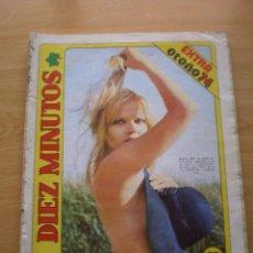 Coleccionismo de Revista Diez Minutos: REVISTA DIEZ MINUTOS Nº EXTRA DE OTOÑO 74. Lote 60094555