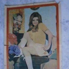 Coleccionismo de Revista Diez Minutos: POSTER DIEZ MINUTOS CONCHITA BAUTISTA. Lote 60600671