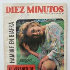 Coleccionismo de Revista Diez Minutos: DIEZ MINUTOS AGOSTO DE 1968. Lote 62894406