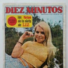 Coleccionismo de Revista Diez Minutos: DIEZ MINUTOS OCTUBRE 1971 . Lote 62894552