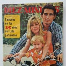 Coleccionismo de Revista Diez Minutos: DIEZ MINUTOS ENERO 1972. Lote 62894642