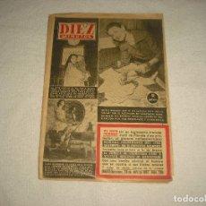 Coleccionismo de Revista Diez Minutos: DIEZ MINUTOS N° 296 . ABRIL 1957. Lote 63340932