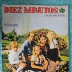 Coleccionismo de Revista Diez Minutos: REVISTA DIEZ MINUTOS Nº 1265 AÑO 1975 -LUTO POR FRANCO -JUAN CARLOS - EL CORDOBES -JULIO IGLESIAS. Lote 68025981
