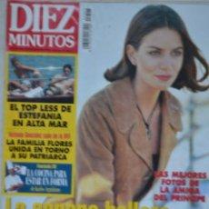 Coleccionismo de Revista Diez Minutos: REVISTA DIEZ MINUTOS, Nº 2343. 19 JULIO 1996. PRINCESA GIGI. FAMILIA FLORES. ESTEFANIA DE MONACO. Lote 69386605