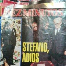Coleccionismo de Revista Diez Minutos: DIEZ MINUTOS STEFANO ADIOS. Lote 71484411