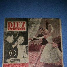 Coleccionismo de Revista Diez Minutos: REVISTA DIEZ MINUTOS. LOTE 27 EJEMPLARES DE 1956. Lote 71682803