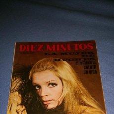 Coleccionismo de Revista Diez Minutos: DIEZ MINUTOS Nº 1070 1972 HUGHES, DO BARRO, ULLA, MARISA MEDINA, BURT LANCASTER POSTER, MARISOL . Lote 71772491