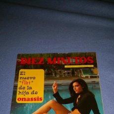 Coleccionismo de Revista Diez Minutos: DIEZ MINUTOS Nº 1090 1972 RAPHAEL, ONASSIS, INGRID GARBO, SIMON ANDREU, CARMEN PLATERO, MIGUEL RIOS. Lote 71780439